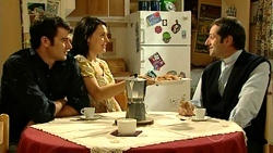 Frazer Yeats, Rosie Cammeniti, Father Capetola in Neighbours Episode 5233