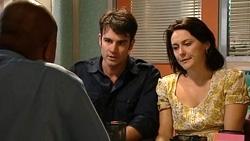 Dr Peter Dwyer, Frazer Yeats, Rosie Cammeniti in Neighbours Episode 5234
