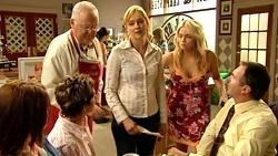Bree Timmins, Susan Kennedy, Harold Bishop, Janelle Timmins, Sky Mangel, Karl Kennedy in Neighbours Episode 5235