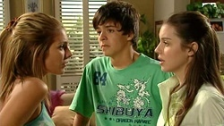 Rachel Kinski, Zeke Kinski, Louise Carpenter (Lolly)  in Neighbours Episode 5238