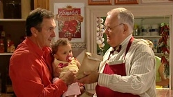 Karl Kennedy, Kerry Mangel (baby), Harold Bishop in Neighbours Episode 5239