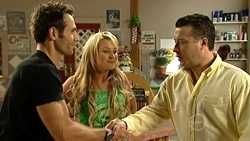 Adam Rhodes, Pepper Steiger, Allan Steiger in Neighbours Episode 5240