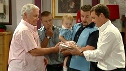 Lou Carpenter, Boyd Hoyland, Charlie Hoyland, Toadie Rebecchi, Paul Robinson in Neighbours Episode 5240