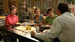Susan Kennedy, Rachel Kinski, Zeke Kinski, Karl Kennedy in Neighbours Episode 5246