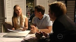 Elle Robinson, Paul Robinson, Oliver Barnes in Neighbours Episode 5246