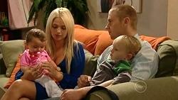 Kerry Mangel (baby), Sky Mangel, Boyd Hoyland, Charlie Hoyland in Neighbours Episode 5249
