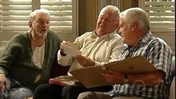Tom Kennedy, Harold Bishop, Lou Carpenter in Neighbours Episode 5253