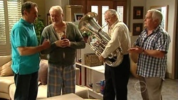 Karl Kennedy, Tom Kennedy, Harold Bishop, Lou Carpenter in Neighbours Episode 5253