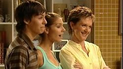 Zeke Kinski, Rachel Kinski, Susan Kennedy in Neighbours Episode 5253