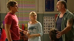 Ned Parker, Janae Timmins, Matcham Rolfe in Neighbours Episode 5253