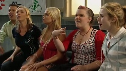 Allan Steiger, Janelle Timmins, Sky Mangel, Bree Timmins, Anne Baxter in Neighbours Episode 5254