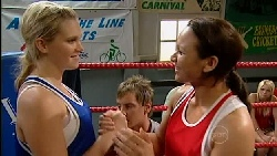 Janae Hoyland, Ned Parker, Michaela Chapel in Neighbours Episode 5254
