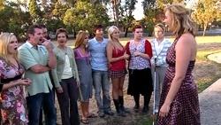 Janae Timmins, Toadie Rebecchi, Karl Kennedy, Susan Kennedy, Rachel Kinski, Zeke Kinski, Sky Mangel, Bree Timmins, Anne Baxter, Janelle Timmins in Neighbours Episode 5255