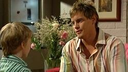 Mickey Gannon, Ned Parker in Neighbours Episode 5256