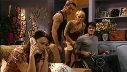 Rosie Cammeniti, Adam Rhodes, Pepper Steiger, Frazer Yeats in Neighbours Episode 5258
