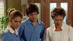 Rachel Kinski, Zeke Kinski, Susan Kennedy in Neighbours Episode 5258