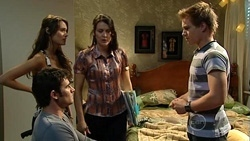 Frazer Yeats, Carmella Cammeniti, Rosie Cammeniti, Ringo Brown in Neighbours Episode 5259
