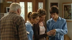 Tom Kennedy, Rachel Kinski, Susan Kennedy, Zeke Kinski in Neighbours Episode 5259