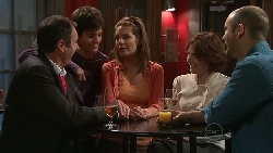 Karl Kennedy, Zeke Kinski, Rachel Kinski, Julia Sanders, Steve Parker in Neighbours Episode 5284