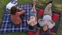 Riley Parker, Bridget Parker, Steve Parker in Neighbours Episode 5286