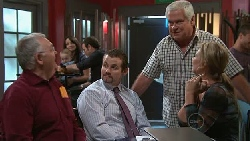 Harold Bishop, Toadie Rebecchi, Lou Carpenter, Steph Scully in Neighbours Episode 5286
