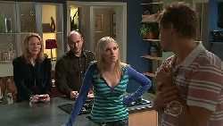 Miranda Parker, Steve Parker, Janae Timmins, Ned Parker in Neighbours Episode 5287
