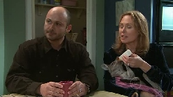 Steve Parker, Miranda Parker, Pouch in Neighbours Episode 5287