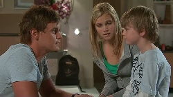 Ned Parker, Janae Timmins, Mickey Gannon in Neighbours Episode 5288