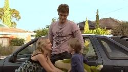 Ned Parker, Kirsten Gannon, Mickey Gannon in Neighbours Episode 5294