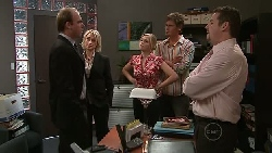 Tim Collins, Diana Murray, Janae Timmins, Ned Parker, Toadie Rebecchi in Neighbours Episode 5297