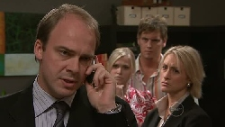 Tim Collins, Janae Timmins, Ned Parker, Diana Murray in Neighbours Episode 5297