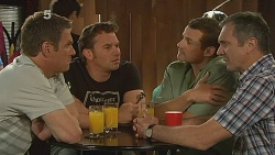 Michael Williams, Lucas Fitzgerald, Toadie Rebecchi, Karl Kennedy in Neighbours Episode 6091