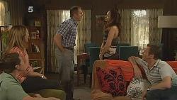 Toadie Rebecchi, Sonya Mitchell, Karl Kennedy, Jade Mitchell, Michael Williams in Neighbours Episode 6091