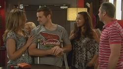 Sonya Mitchell, Toadie Rebecchi, Jade Mitchell, Karl Kennedy in Neighbours Episode 6092