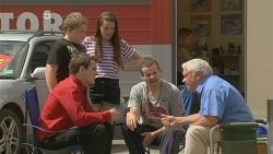 Callum Jones, Sophie Ramsay, Kyle Canning, Toadie Rebecchi, Lou Carpenter in Neighbours Episode 6093