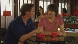 Lucas Fitzgerald, Declan Napier in Neighbours Episode 6095