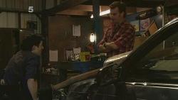 Billy Forman, Lucas Fitzgerald in Neighbours Episode 6096