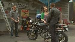 Lucas Fitzgerald, Kate Ramsay, Mark Brennan in Neighbours Episode 6096