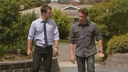 Mark Brennan, Lucas Fitzgerald in Neighbours Episode 6096
