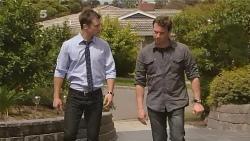 Mark Brennan, Lucas Fitzgerald in Neighbours Episode 6096