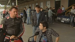 Lucas Fitzgerald, Garland Cole, Billy Forman in Neighbours Episode 6096