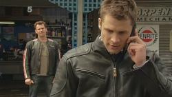 Lucas Fitzgerald, Mark Brennan in Neighbours Episode 6097