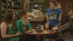 Kate Ramsay, Jade Mitchell, Callum Jones, Sophie Ramsay in Neighbours Episode 6097