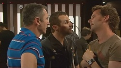 Karl Kennedy, Toadie Rebecchi, Lucas Fitzgerald in Neighbours Episode 6098
