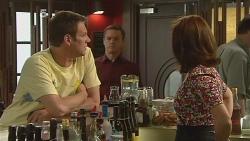 Michael Williams, Paul Robinson, Rebecca Napier in Neighbours Episode 6098