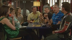 Kate Ramsay, Susan Kennedy, Sonya Mitchell, Michael Williams, Toadie Rebecchi, Karl Kennedy, Lucas Fitzgerald in Neighbours Episode 6098