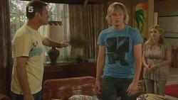 Michael Williams, Andrew Robinson, Natasha Williams in Neighbours Episode 6098