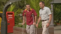 Toadie Rebecchi, Karl Kennedy in Neighbours Episode 6099