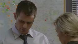 Mark Brennan, Senior Constable Megan Phillips in Neighbours Episode 6101