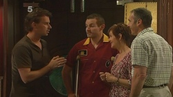 Lucas Fitzgerald, Toadie Rebecchi, Susan Kennedy, Karl Kennedy in Neighbours Episode 6101